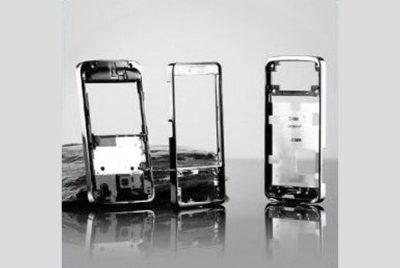 手機外殼 烤漆+電鍍+印刷